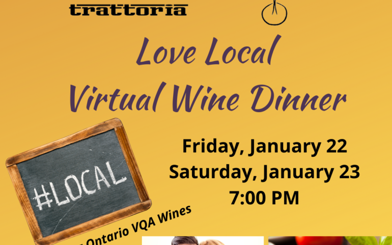Love Local Virtual Wine Dinner