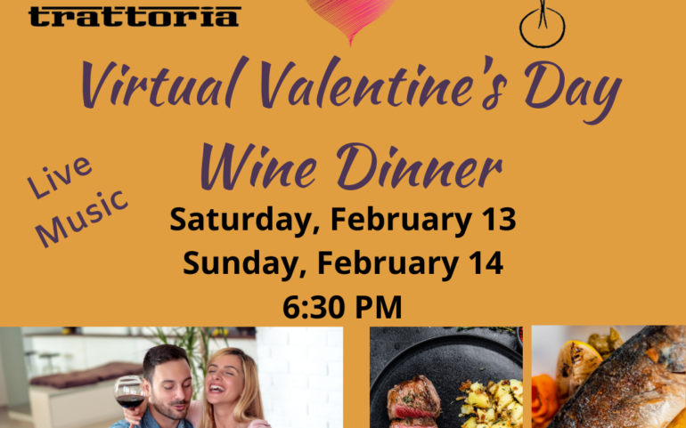 Virtual Valentine's Day Wine Dinner (Sunday Night)