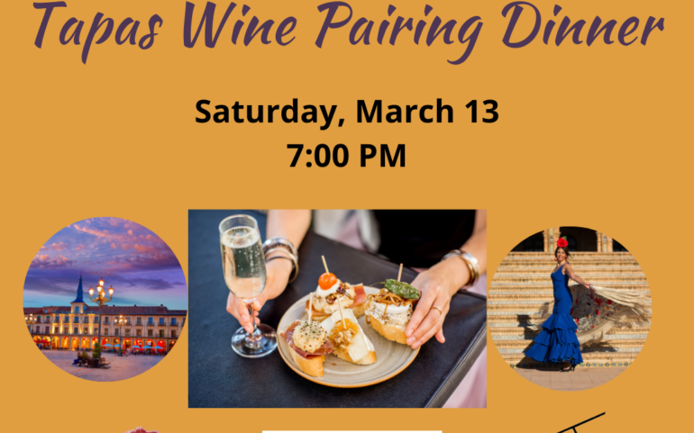 Flavours of Spain: Tapas Wine Pairing Dinner